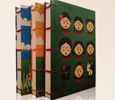 Cadernos Ilustrados tema Frida Kahlo